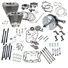 "124"" Hot Set Up Kit<sup>®</sup> Without S&S Cylinder Heads For 2007-'16 Non-Balanced CVO Big Twins - Stone Gray"
