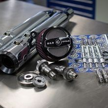 Stage II Kit with 509G Cams and Chrome Grand National mufflers for 1999-06 Touring models