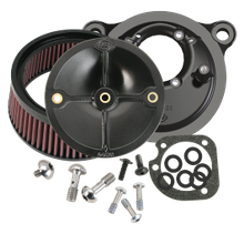 Stealth Air Cleaner Kit Without Cover For 1993-1999 HD<sup>®</sup> Big Twin Models With Stock CV Carb