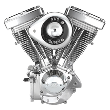 V96 Complete Assembled Engine For 1984-'99 Carbureted HD Big Twins - Natural