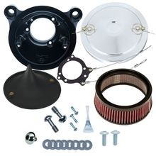Stealth Air Cleaner Kit with Chrome Muscle for 2001-'17 bt with Delphi<sup>®</sup> EFI, Except Throttle by Wire