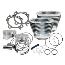 "98"" Bolt-In Big Bore Kit for 1999-'06  Big Twins - Silver Finish"
