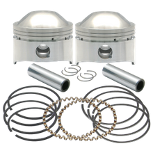 "3-1/2"",+.010"", 80"" HC Forged Pistons for 1978-'84 HD<sup>®</sup> OHV Engines"