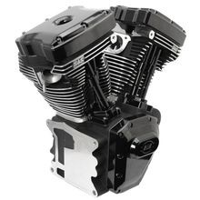 T124 Black Edition Long Block Engine for 2006-'17 HD® Dyna® Models