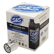 S&S Oil Change Kit for 2017-'18 M8 Models
