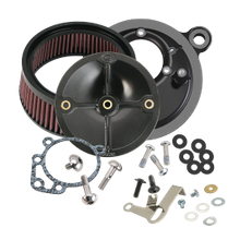 Stealth Air Cleaner Kit Without Cover for 1999-2006 HD<sup>®</sup> Big Twins With S&S<sup>®</sup> Super E/G Carburetor or S&S<sup>®</sup> 52mm Throttle Body