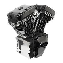 T124 Black Edition Longblock Engine for Select 1999-'06 HD® Twin Cam 88®, 95®, 103® Models - 640 GE Cams