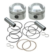 "S&S<sup>®</sup> Forged Stock Bore Stroker Pistons For 1936-'84 OHV Engines - 3-7/16"" +.040"""