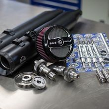 Stage II Kit with 510G Cams and Black Grand National mufflers for 1999-06 Touring models