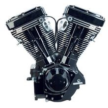 V111 Black Edition Longblock Engine for 1984-'99 HD® Models with Evolution® Engines - 585 Cams