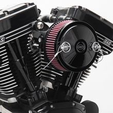 Stealth Air Cleaner Kit with Black Muscle for 2001-'17 bt with Delphi<sup>®</sup> EFI, Except Throttle by Wire