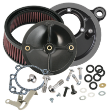 S&S<sup>®</sup> Stealth Air Cleaner Kit Without Cover For 1993-'99 HD<sup>®</sup> Big Twins With S&S<sup>®</sup> Super E or G Carburetor or S&S<sup>®</sup> 52mm Throttle Body