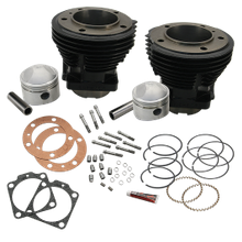 "84"" 86"" or 88"" 3-7/16"" Bore Cylinder and Stroker Piston Kit for 1966-'84 HD<sup>®</sup> Big Twins - Gloss Black FInish"