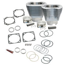 "4 1/8"" Bore Cylinder Kit for S&S V111 Engine For 1984-'99 Big Twins - Natural Aluminum Finish"