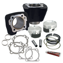 883 to 1200cc Conversion Kit for 1986-2019 HD<sup>®</sup> Sportster<sup>®</sup> Models - Wrinkle Black Finish