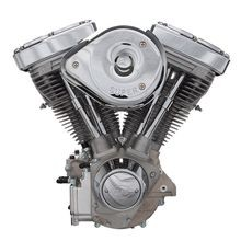 V96R Complete Assembled 50 State Legal Engine For 1984-'98 Carbureted Non-Catalyst Big Twins - Natural Finish