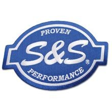 "S&S<sup>®</sup> Cycle Logo 6"" Patch"