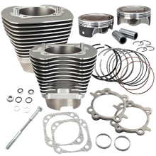 "4 1/8"" Bore Cylinder & Piston Kit for 124"" Dish 2007-'15 Big Twins"
