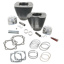 "1458cc (89"") Intermediate Compression Sidewinder Big Bore Cylinder and Piston kit  for 1986-'16 HD<sup>®</sup> Sportster<sup>®</sup> and  1994-'02 Buell<sup>®</sup> Models With S&S Super Stock<sup>®</sup> Heads - Natural"