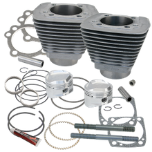 "1458cc (89"") Low Compression Sidewinder Big Bore Cylinder and Piston kit  for 1986-'16 HD<sup>®</sup> Sportster<sup>®</sup> and  1994-'02 Buell<sup>®</sup> Models With S&S Super Stock<sup>®</sup> Heads - Natural Aluminum"