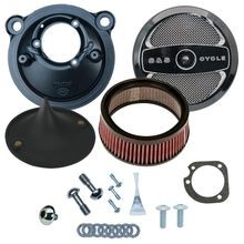 Stealth Air Cleaner Kit with Air 1 Cover for 2007-2017 XL Models