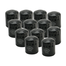 12 Pack of Black Oil Filter for 1999-'17 HD<sup>®</sup> Big Twins, 2017-'18 M8 & X-Wedge<sup>™</sup>