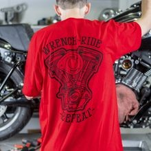 Wrench Ride Repeat EVO T-Shirt