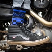 S&S<sup>®</sup> Cycle Ride Fast Crew Sock