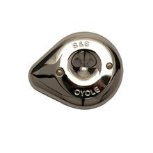 S&S<sup>®</sup> Chrome Mini Teardrop Stealth Air Cleaner Cover