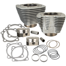 883 to 1200cc Conversion Kit for 1986-2019 HD<sup>®</sup> Sportster<sup>®</sup> Models - Silver Finish