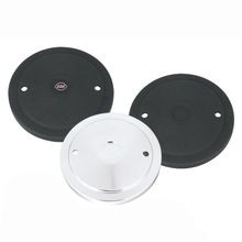 Muscle Cover Only for S&S<sup>®</sup> Stealth Air Cleaners - Chrome and Gloss Black