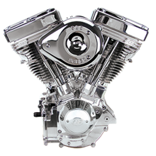 V124 Complete Assembled Engine - Polished