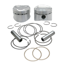 "89"" Low Compression Stroker Pistons For 1984-'99 HD<sup>®</sup> Big Twins W/ Super Stock Heads - +.020"""