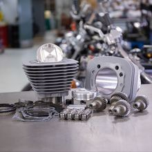 Hooligan Kit - 1200cc to 1250cc for 2000-'19 HD<sup>®</sup> Sportster<sup>®</sup> Models - Silver
