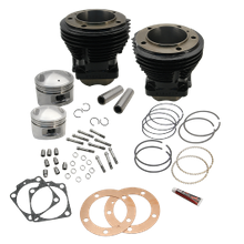 "98"" 3-5/8"" Big Bore Cylinder and Piston Kit for S&S SH98 Engines or 1966-84 HD<sup>®</sup> Big Twins With S&S 98"" Sidewinder Kit - Gloss Black Finish"