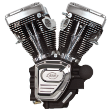 T124 Engine for 2006-'17 HD® Dyna® Models - Wrinkle Black