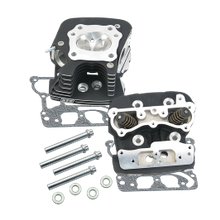 S&S<sup>®</sup> Super Stock<sup>®</sup> 89cc Cylinder Head Kit For 1999-'05 HD<sup>®</sup> Big Twins - Wrinkle Black Powder Coat Finish