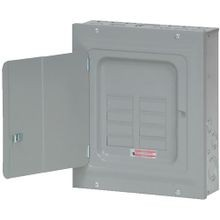 Cutler-Hammer BR816L125SDP BR Series 1-Phase Split Neutral Main Lug Load Center, 120/240 VAC, 125 A, 10 kA Interrupt