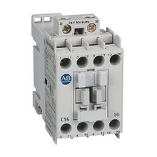 Allen-Bradley, 100-C16D10, 100-C IEC Contactor, Screw Terminals, Line Side, 16A, 1 N.O.  0 N.C. Auxiliary Contact Configuration