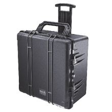 Pelican™ PROTECTOR CASE™ 1640-000-110 Transport Case With Lid Liner and Foam, 23.7 in L x 24 in W x 13.9 in H, 4.58 cu-ft, Polypropylene