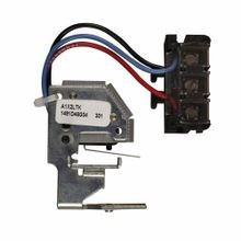 Cutler-Hammer A1X4PK C Series Auxiliary Switch Factory Installation Kit, 600 VAC/125/250 VDC, 1 Contact, For Use With L-Frame HMCP, M-Frame Molded Case Circuit Breakers, Pigtail Lead