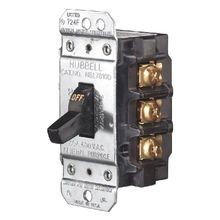 Circuit Lock, Manual Motor Controller, Toggle Switch, 3 Poles, 600 VAC, 30 Ampere, Front Operated