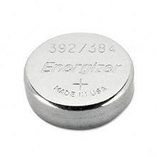 EVEREADY® 392BP Specialty Button Battery, Silver Oxide, 1.5 VDC, 41 mAh, 392 Battery