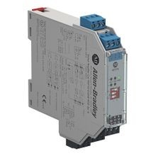 Allen-Bradley, 937TS-DISAR-KD2, 937 Isolated Barrier, 20mm Module (Standard Density), Digital In I/O Type, Switch Amplifier with Relay Output, 115V AC, Dual Channel