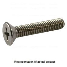 Stewart Fastener & Tool, Machine Screw, #8-32, 3 Inch, Round, Slotted, Zinc Plated, 100/Pack