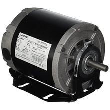 Century, Resilient Base Motor, Split-Phase, 1/4 HP, 48, 1 Phase, 1725 RPM, ODP, 115 Volts