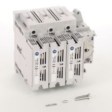 Allen-Bradley, 194R Fused and Non-Fused Disconnected Switches, Open, CC fuse, 30 A, 3 Pole