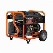 Generac® 5941 GP6500E Portable Generator, 120/240 VAC, 54.2 A, 8125 W Starting/6500 W Running, OHV Engine, 3600 rpm