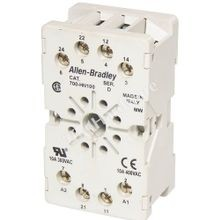 Allen-Bradley, Relay Socket, Panel or DIN Rail Mount, 1-1/2 Inch, 1-1/32 Inch, 2-35/64 Inch