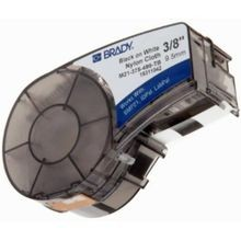 Brady® M21-375-595-WT Label Marker Cartridge, 21 ft L x 3/8 in W, For Use With BMP21, ID PAL and LAB PAL label Printers